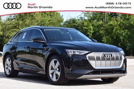 Featured new 2019 Audi e-tron Premium Plus SUV for sale in Sanford, FL, near Orlando, FL.