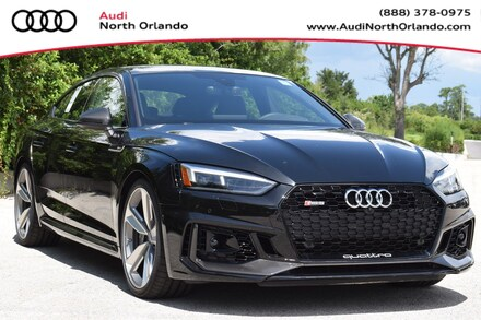Featured new 2019 Audi RS 5 2.9T Sportback for sale in Sanford, FL, near Orlando, FL.