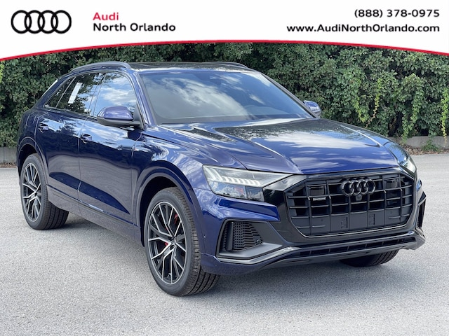 New 2021 Audi Q8 55 Premium Plus SUV WA1EVAF17MD028545 MD028545 for sale in Sanford, FL near Orlando
