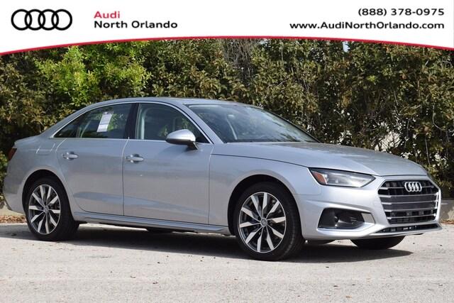 New 2020 Audi A4 40 Premium Sedan WAUGMAF45LN008473 LN008473 for sale in Sanford, FL near Orlando