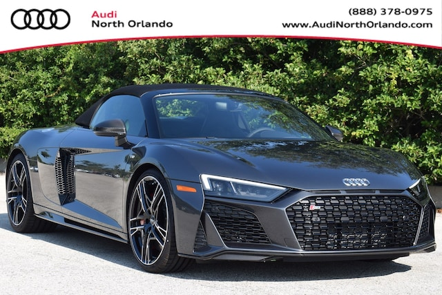 New 2020 Audi R8 5.2 V10 performance Spyder WUA4BCFX3L7900228 L7900228 for sale in Sanford, FL near Orlando