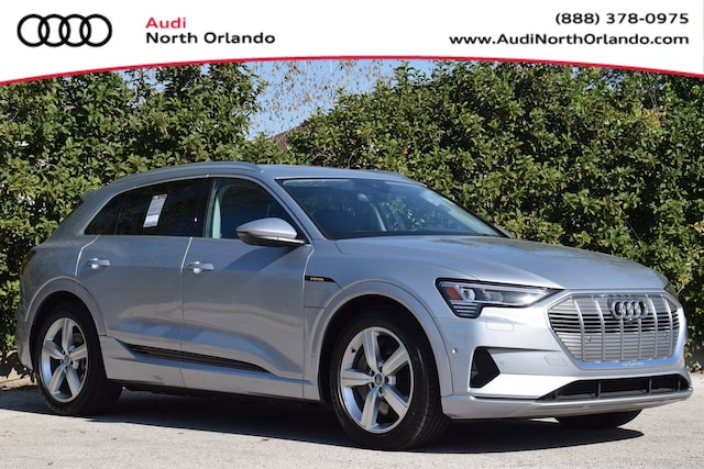 New 2019 Audi e-tron Premium Plus SUV WA1LAAGE9KB024588 KB024588 for sale in Sanford, FL near Orlando