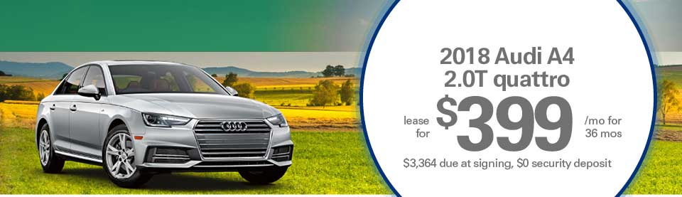 Audi A4 lease deals image