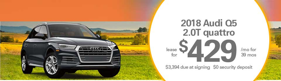 Audi Q5 lease deals image