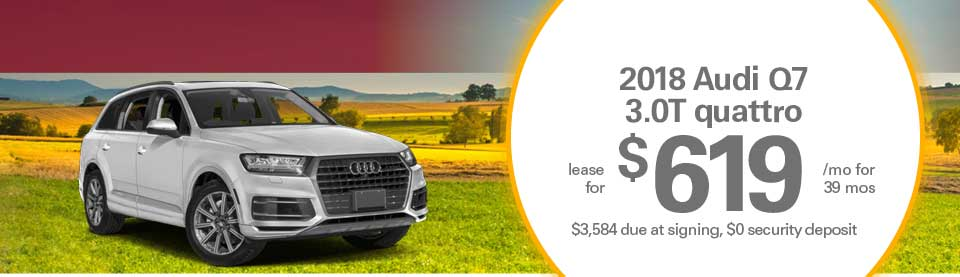 Audi Q7 lease deals image