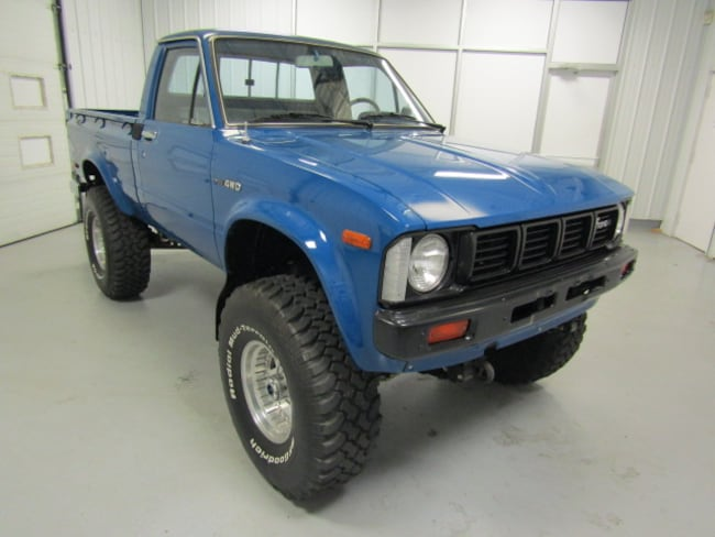 1980 Toyota HiLux 4WD Truck Regular Cab