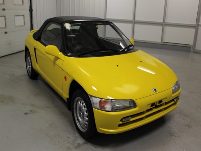 1993 Honda Beat Mid-Engine Convertible