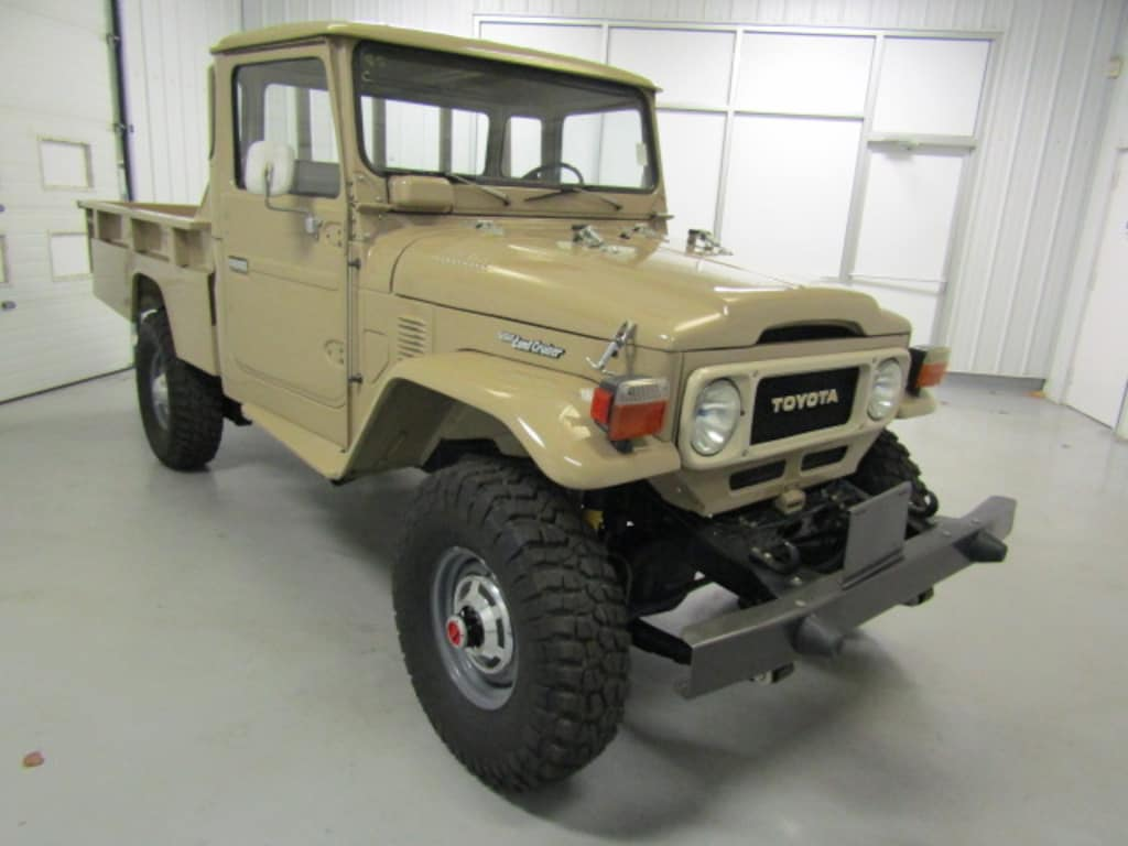 Used 1981 Toyota Land Cruiser For Sale at Duncan Imports and Classic