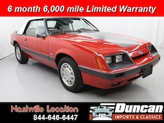 1986 Ford Mustang Golden SP1 Convertible
