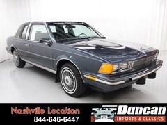 1987 Buick Century Landau Coupe
