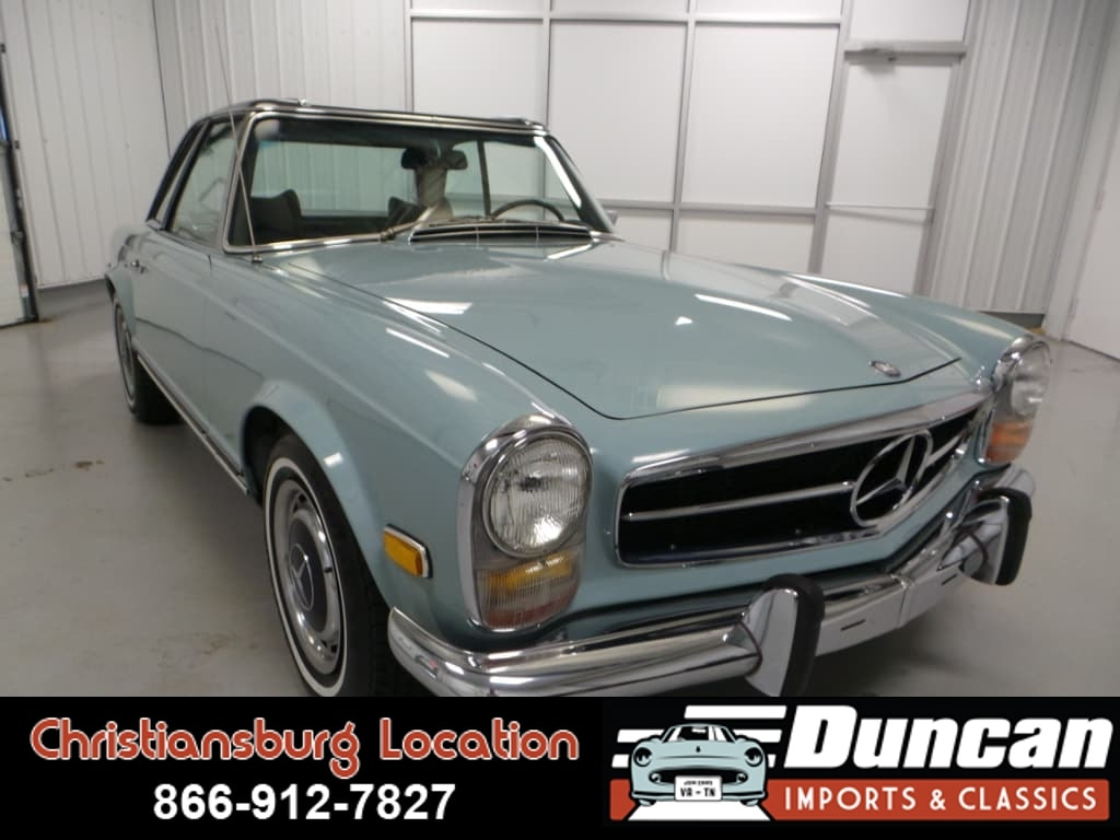 1969 Mercedes-Benz 280 SL Convertible