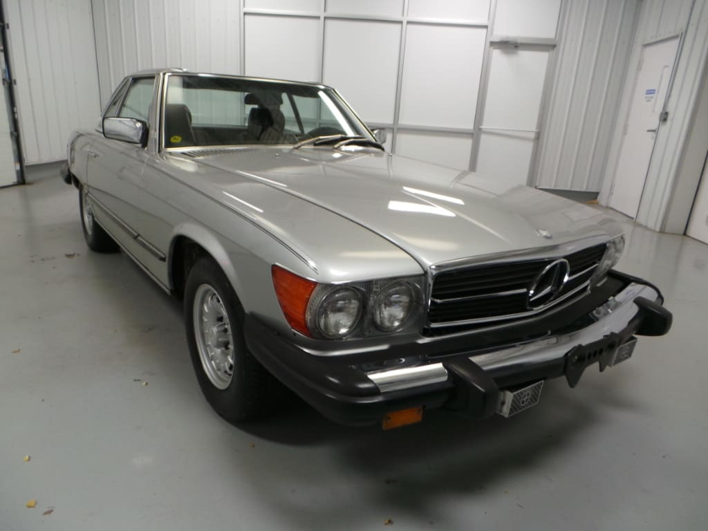 1982 Mercedes-Benz 380 380SL Coupe