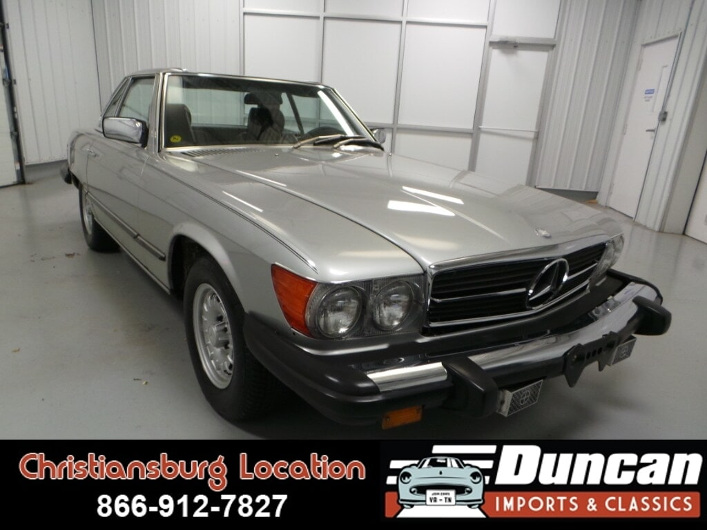 1982 Mercedes-Benz 380 380SL Coupe