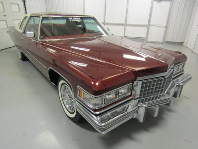 Used 1976 Cadillac Coupe Deville For Sale At Duncan Imports And