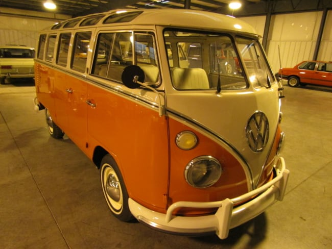 1964 Volkswagen Bus Samba 21 Window Van Extended