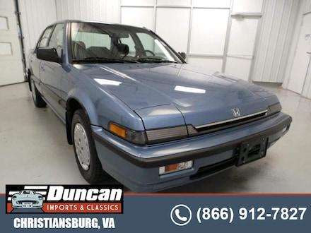 1989 Honda Accord LX Sedan