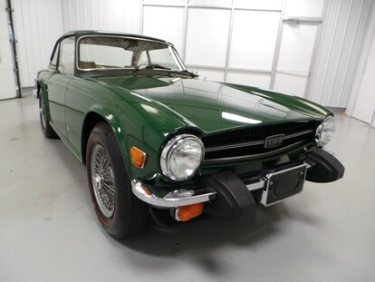 Used 1976 Triumph TR6 For Sale at Duncan Imports and Classic