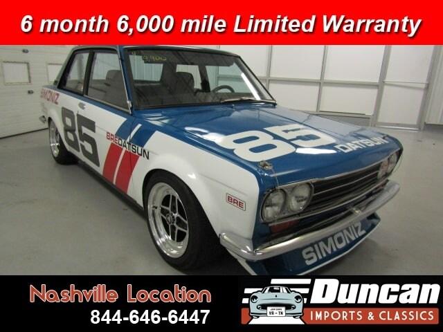 1971 Datsun 510 BRE Coupe