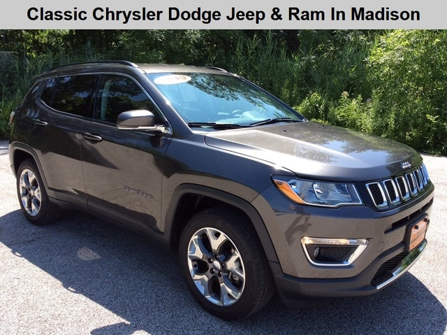 Certified Used 2019 Jeep Compass Limited 4x4 For Sale in Madison OH