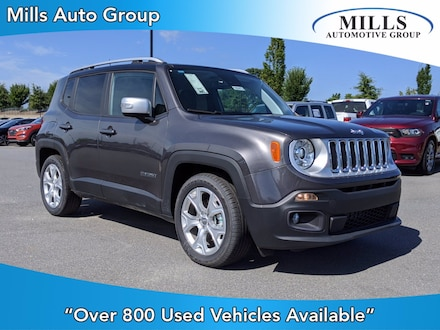 2018 Jeep Renegade Limited Limited FWD