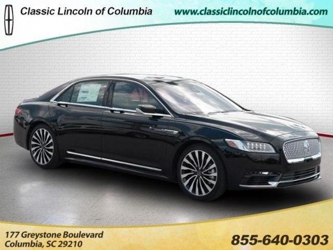 2018 Lincoln Continental Black Label Car