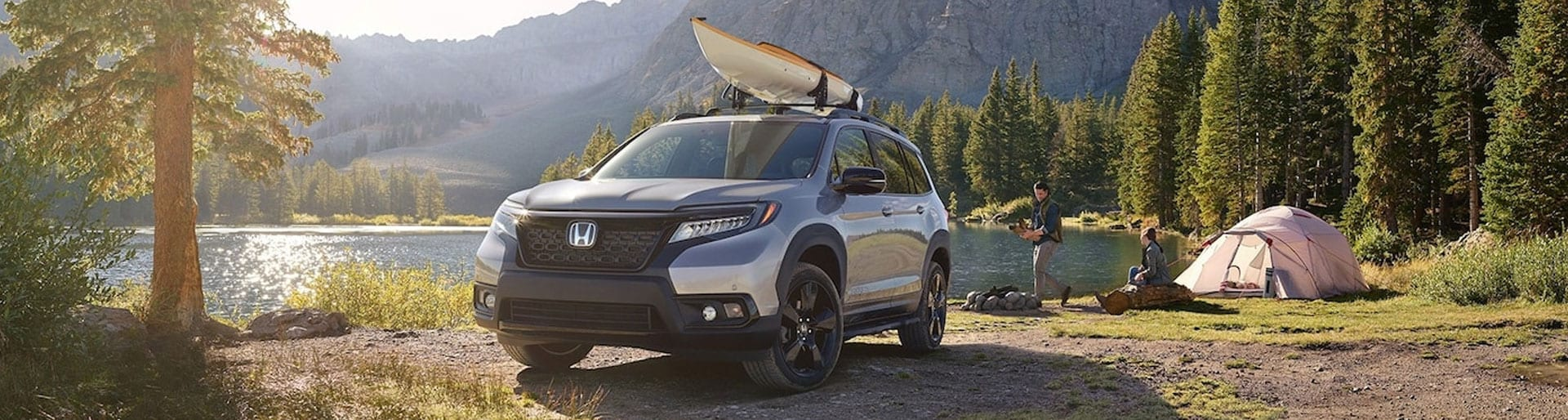 Honda Passport Near Lake