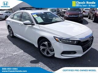 2018 Honda Accord EX-L 1.5T Sedan