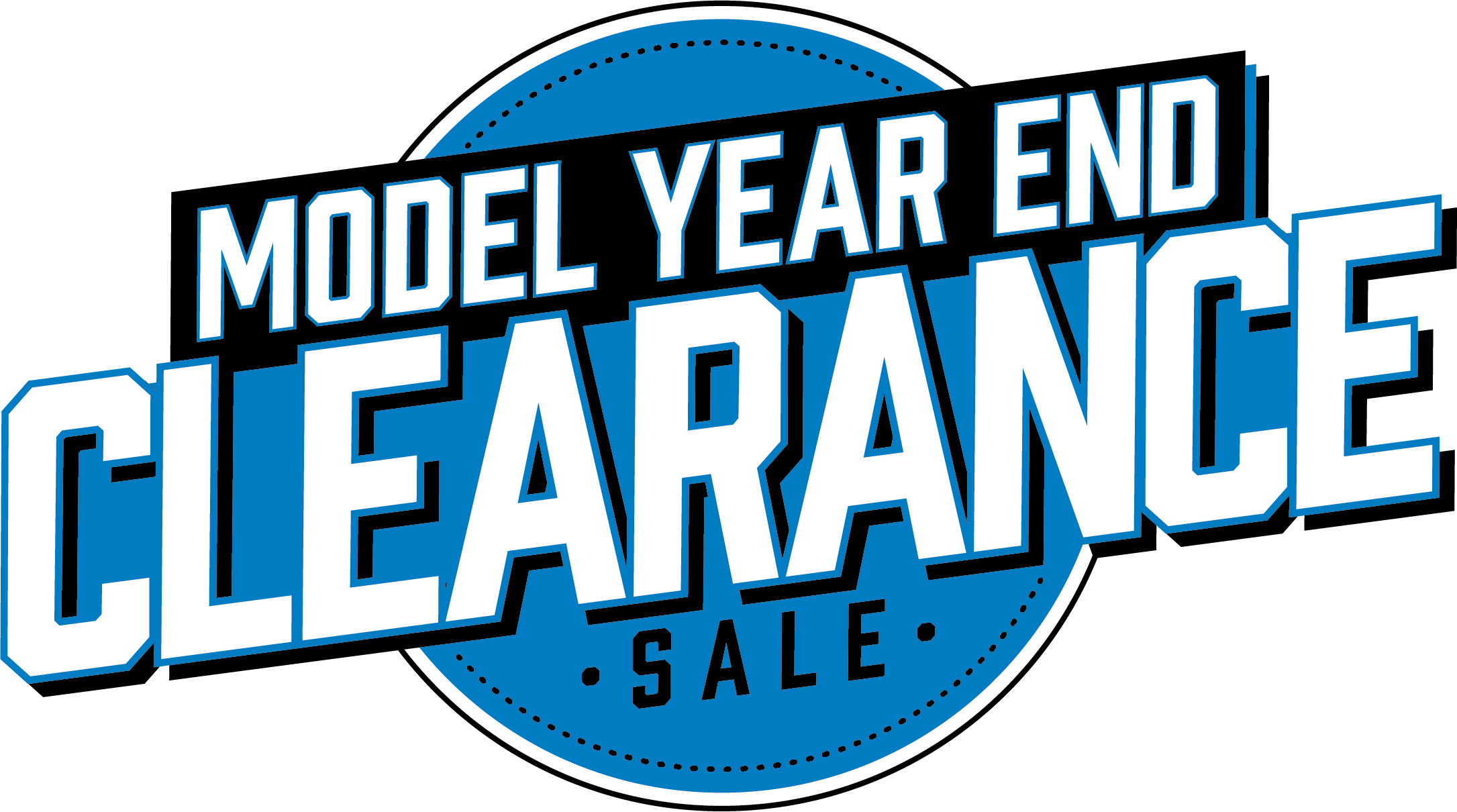 Model Year End Clearance Sale