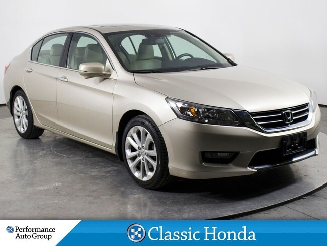 2014 Honda Accord Touring V6 | NAVI | LEATHER | REAR CAM | SUNROOF | Sedan