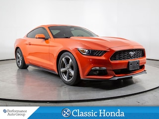 2015 Ford Mustang V6   REAR CAM   CLEAN CARFAX   BLUETOOTH   ALLOYS Coupe