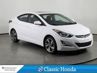 2016 Hyundai Elantra GLS | 6-SPEED | REAR CAM | BLUETOOTH | SUNROOF Sedan