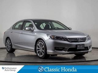 2015 Honda Accord Sedan SPORT   SUNROOF   HEATED SEATS   REAR CAM   ALLOYS Sedan