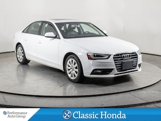 2013 Audi A4 2.0T | CLEAN CARFAX | LEATHER | ALLOYS | AWD | Sedan