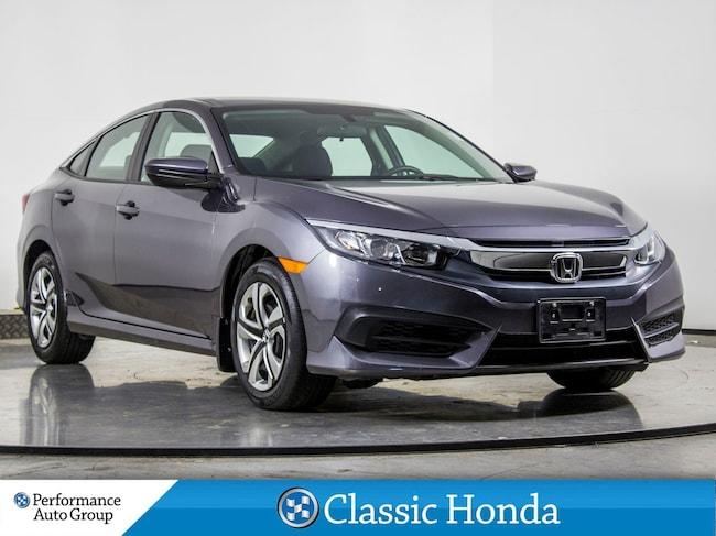 2018 Honda Civic Sedan LX | BLUETOOTH | HEATED SEATS | ECON | REAR CAM | Sedan