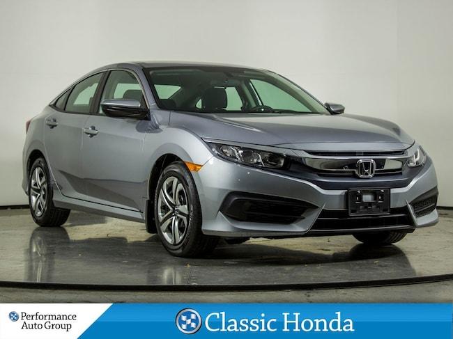 2018 Honda Civic Sedan LX | REAR CAM | LOW MILEAGE | BLUETOOTH | ECON Sedan