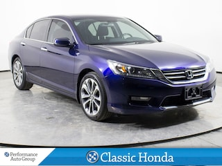 2014 Honda Accord SPORT | CLEAN CARFAX | REAR CAM | HEATED SEATS | Sedan