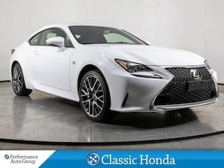 2016 LEXUS RC F-SPORT | NAVI | LEATHER | SUNROOF | REAR CAM | Coupe