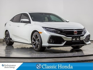 2018 Honda Civic Hatchback SPORT TOURING | NAVI | LEATHER | REAR CAM | Hatchback