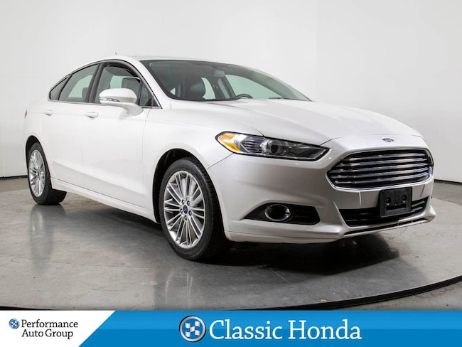 2014 Ford Fusion SE | SUNROOF | REAR CAM | LEATHER | AWD | Sedan