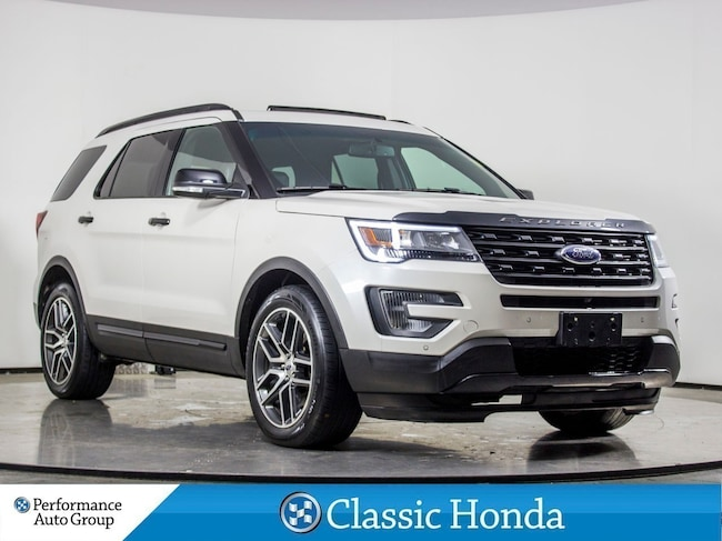 2016 Ford Explorer SPORT | LEATHER | NAVI | CLEAN CARFAX | AWD | SUV