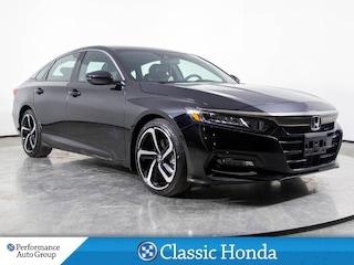 2018 Honda Accord Sedan SPORT 2.0 | LOW MILEAGE | 6-SPEED | REAR CAM | Sedan
