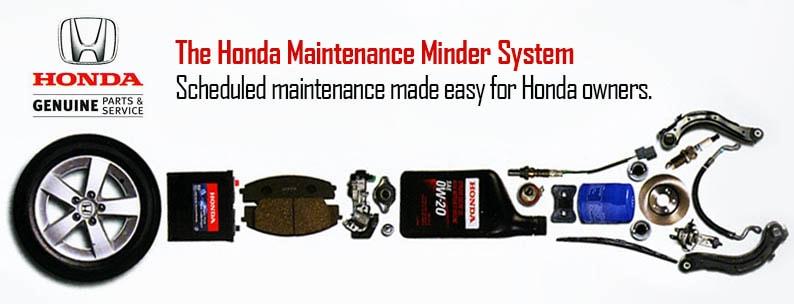 Honda Maintenance Schedule
