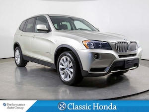 2012 BMW X3 35i | LEATHER | SUNROOF | BLUETOOTH | AS IS |