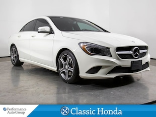 2014 Mercedes-Benz CLA-Class 250 | NAVI | LEATHER | REAR CAM | SUNROOF | AWD | Sedan