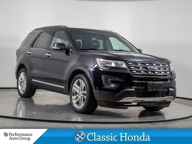 2017 Ford Explorer LIMITED   NAVI   LEATHER   PANO ROOF   REAR CAM   SUV