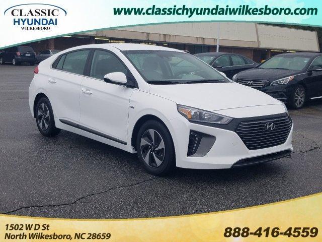 2019 Hyundai Ioniq Hybrid SEL Hatchback Car