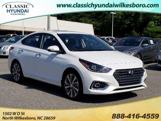 2019 Hyundai Accent Limited Sedan Auto Car