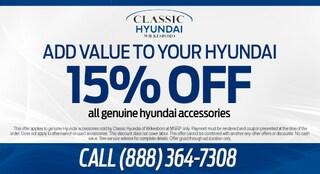 15% Off All Genuine Hyundai Accessories