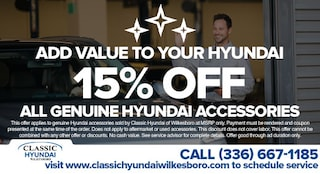 15% Off All Genuine Hyundai Accessories