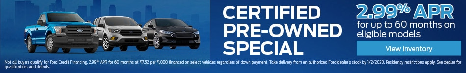Certified Pre-Owned Specials